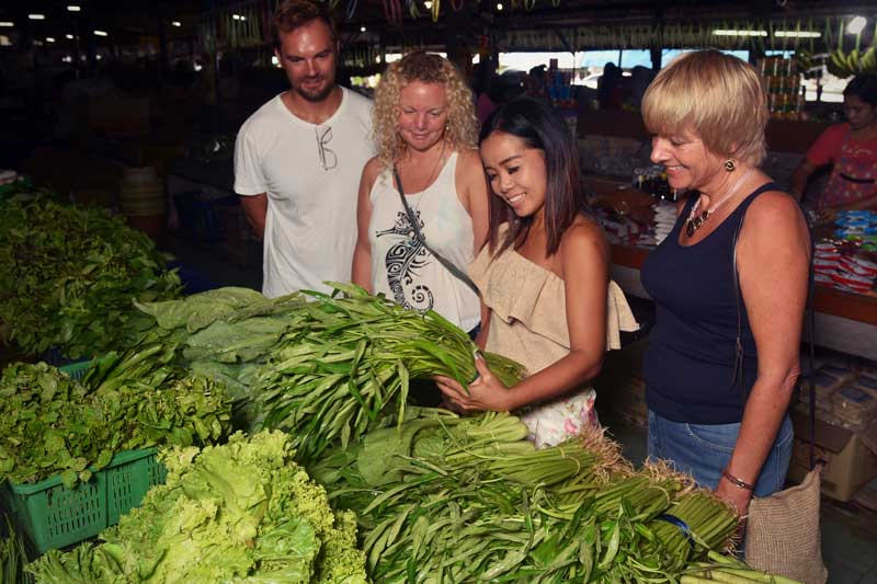 Thai cooking class Khao Lak market tour
