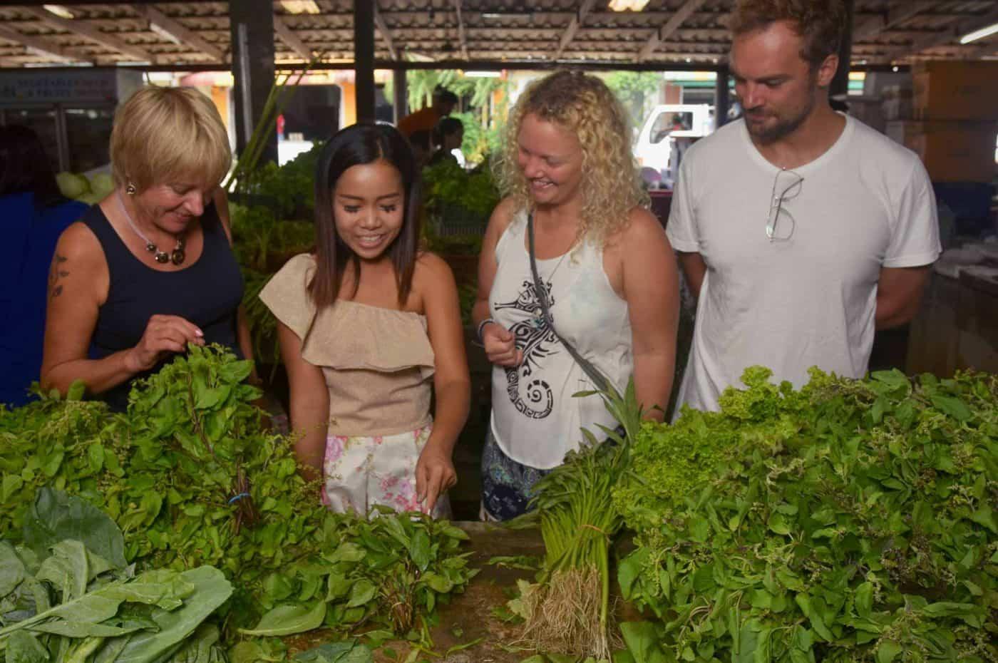 Apple's Khao Lak market tour
