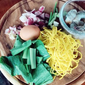 Ingredients for Phuket Original Hokkien Noodles