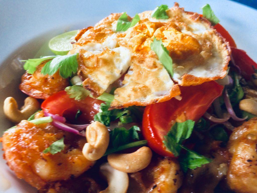 Yam Fern Chan Thai Salad by Riverside Thai Cooking