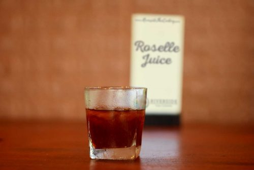 Roselle Juice and Sign