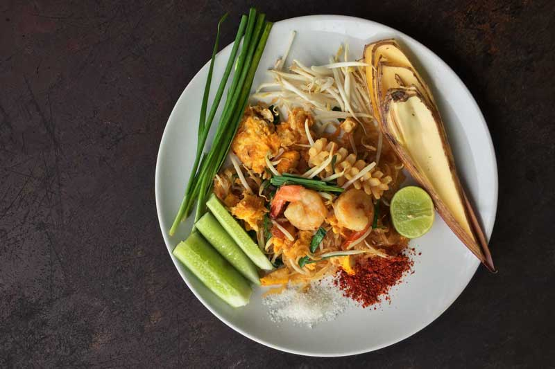 Learning to cook Phad Thai in Khao Lak