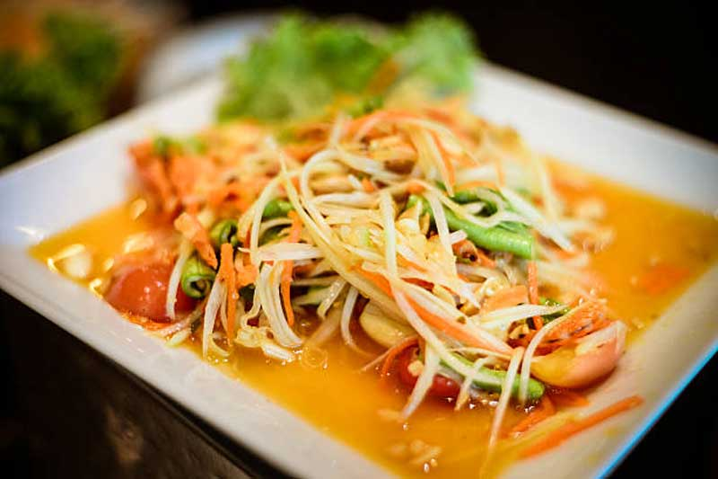 Som Tam spicy papaya salad