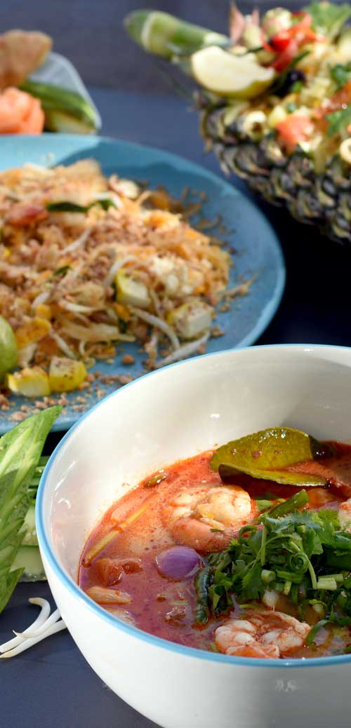 Thai dishes learnt Thai cooking in Khao Lak