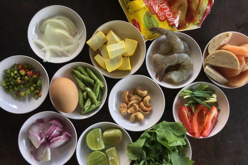 Yam Fern Chan ingredients