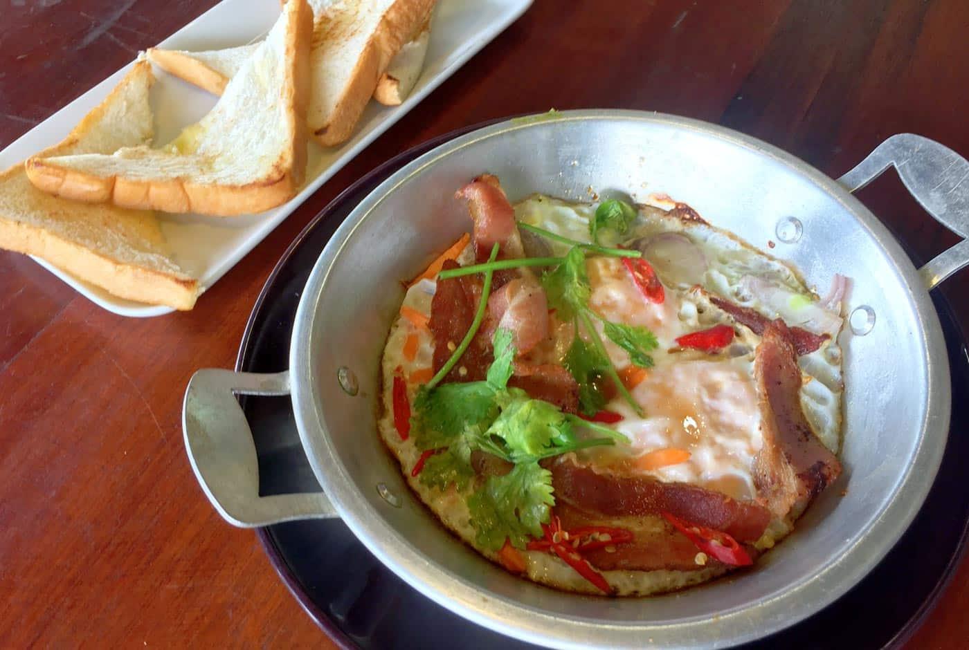 Thai breakfast pan