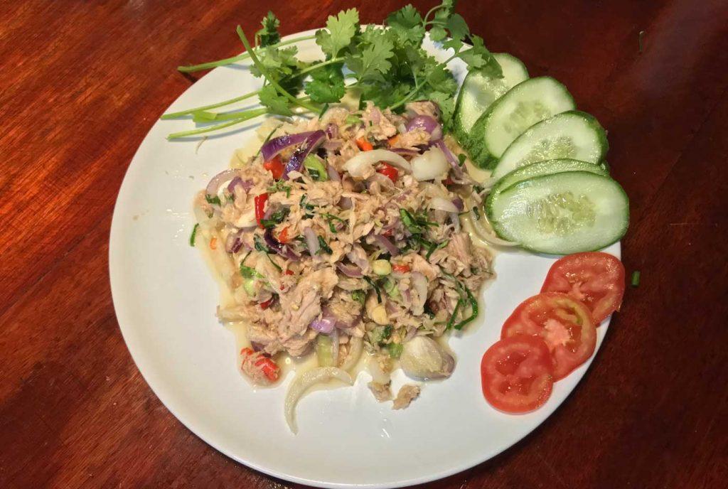 Thai style tuna salad