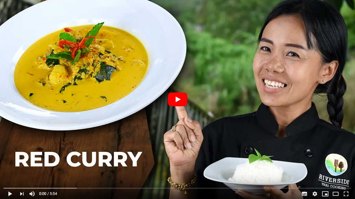 Red curry youtube video