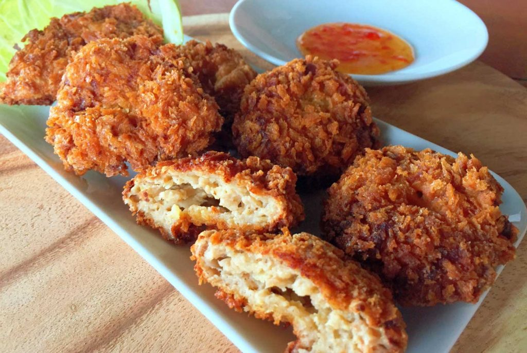 Fried Shrimp Cakes