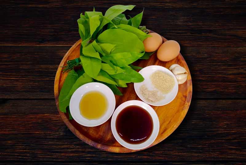 Pad Pak Riang ingredients