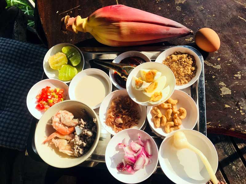Banana blossom ingredients