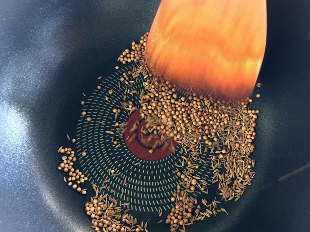Roasting the Seeds