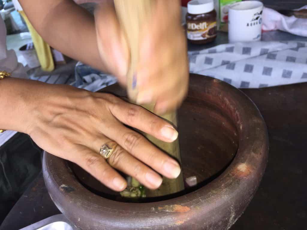 Smashing the Ingredients