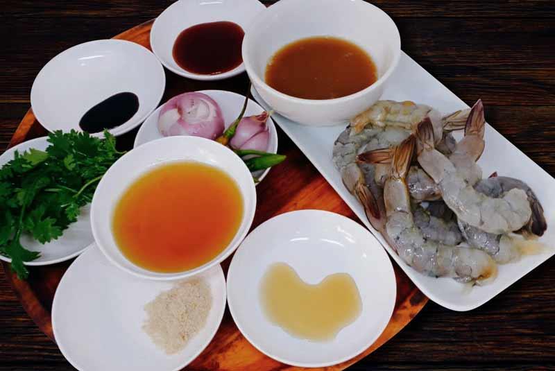 Shrimp in tamarind sauce ingredients